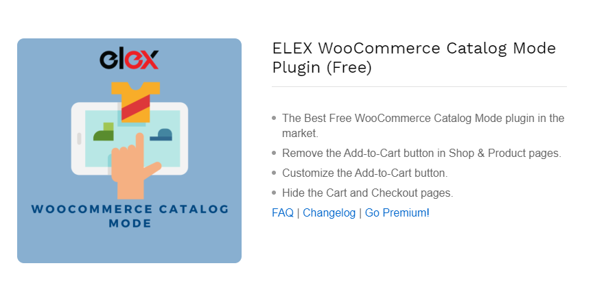 ELEX WooCommerce Catalog Mode || WooCommerce Catalog Mode