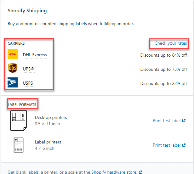 Shopify Shipping || USPS Tracking