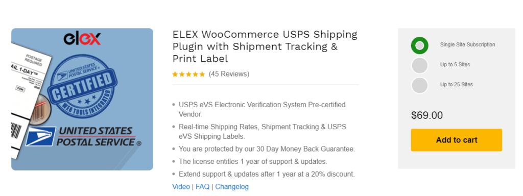 ELEX wooCommerce Shipping plugin