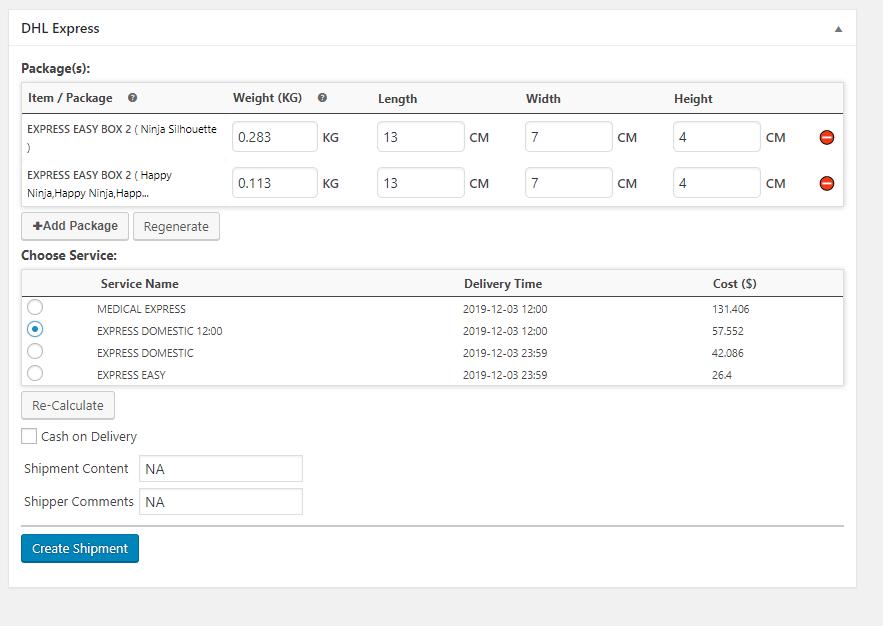 Generate Packaged| WooCommerce Multi-vendor