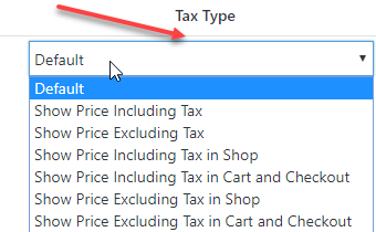 Tax Type