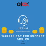 WSDesk WordPress Helpdesk Pay For Support Add-On Logo