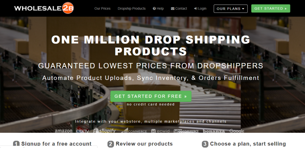 Wholesale2b || dropshipping companies