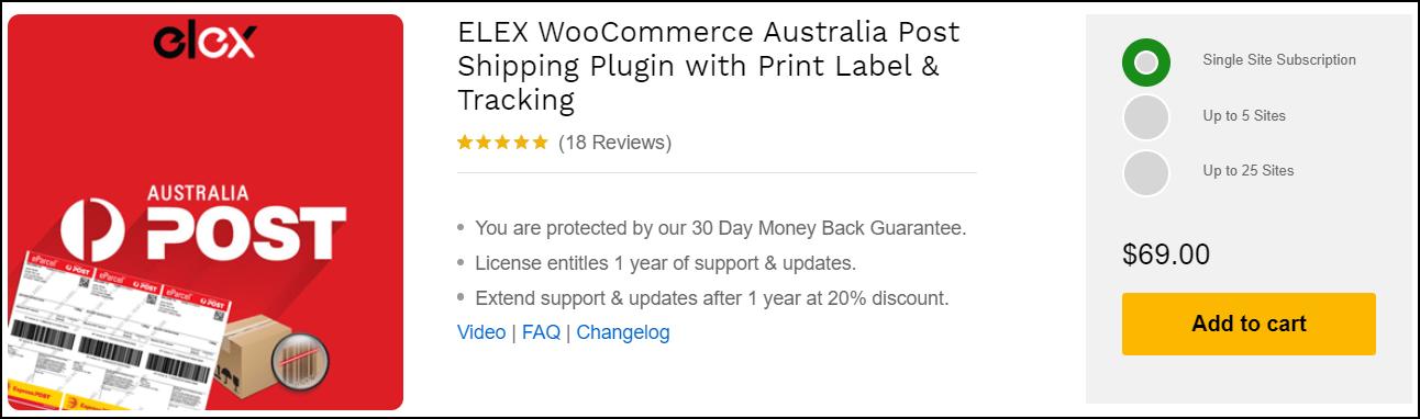 Best WooCommerce Australia Post Shipping Plugins | ELEX WooCommerce Australia Post Shipping Plugin