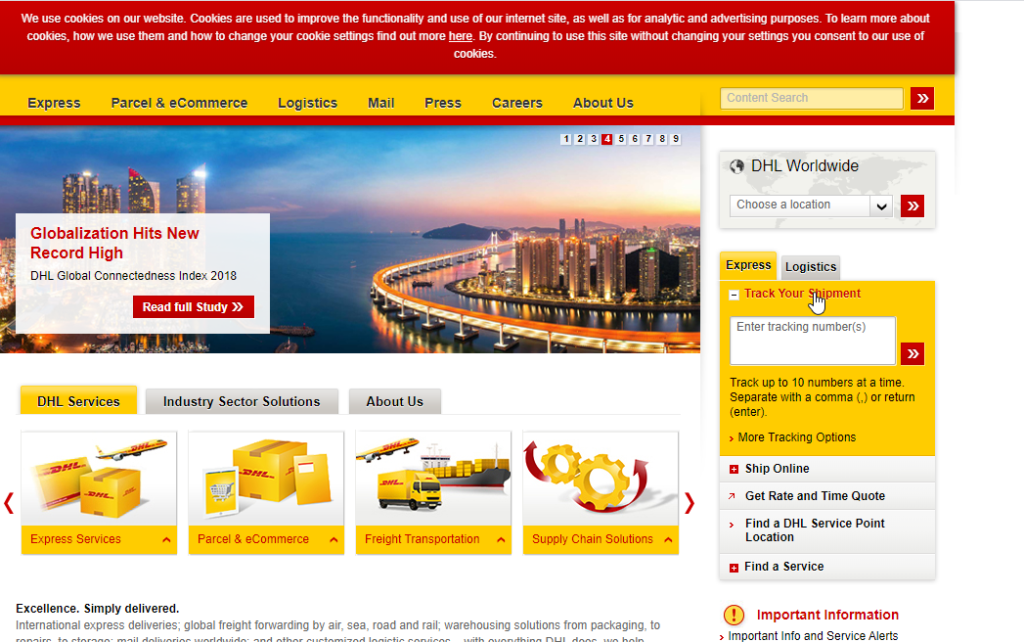 DHL || International Shipping Companies
