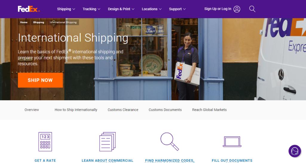 FedEX || International Shipping Companies
