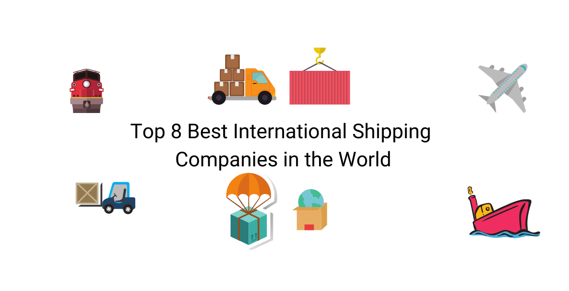 Top 8 Best International Shipping Companies in the World || international Shipping Companies