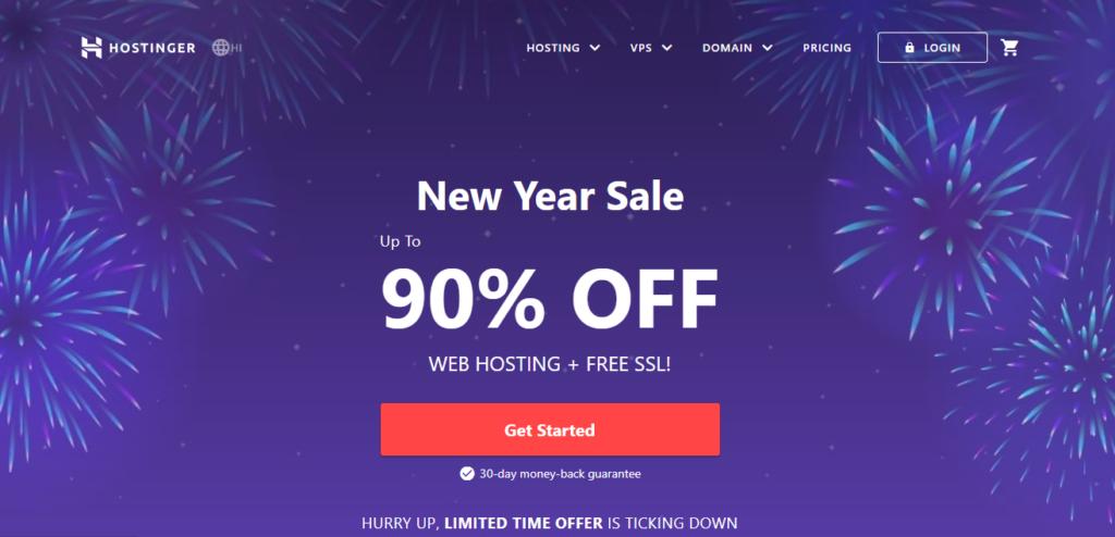 Hostinger || WooCommerce hosting services