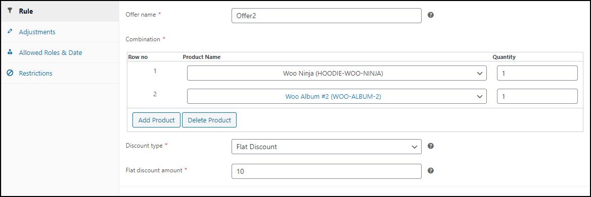 Best WooCommerce Dynamic Pricing Plugin | ELEX WooCommerce Dynamic Pricing Plugin Combi Rule