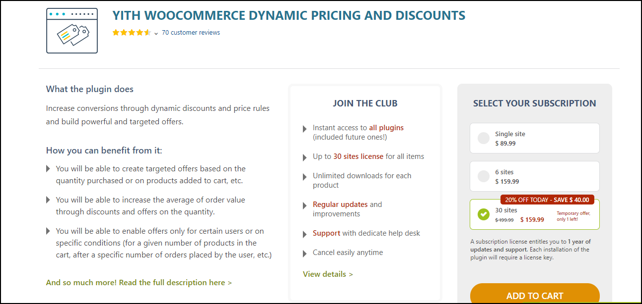 Best WooCommerce Dynamic Pricing Plugins | YITH WooCommerce Dynamic Prices and Discounts