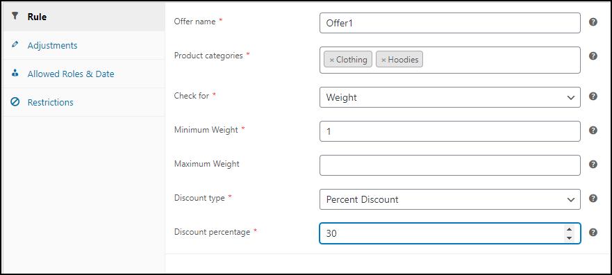 Best WooCommerce Dynamic Pricing Plugins Compared | ELEX WooCommerce Dynamic Pricing Plugin Category Rule