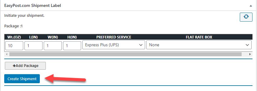 Generate_shipment_UPS ||WooCommerce UPS Shipping
