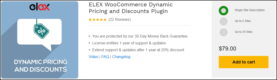 How To Change All Items Pricing At Once With WooCommerce | ELEX WooCommerce Dynamic Pricing and Discounts Plugin
