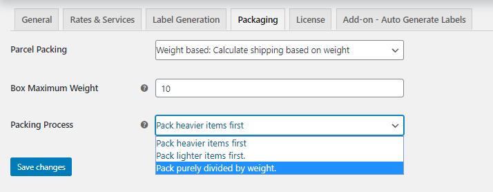 bin packing algorithm