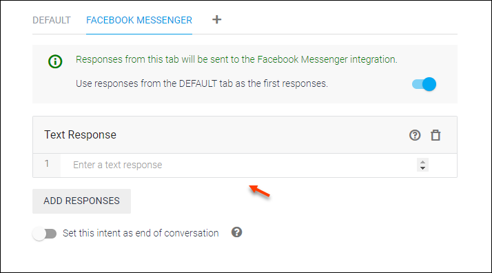 Detailed Guide on Setting up Dialogflow - Artificial Intelligence Based, NLP Optimized for the Google Assistant and Chatbot Development   Facebook Messenger Text Response