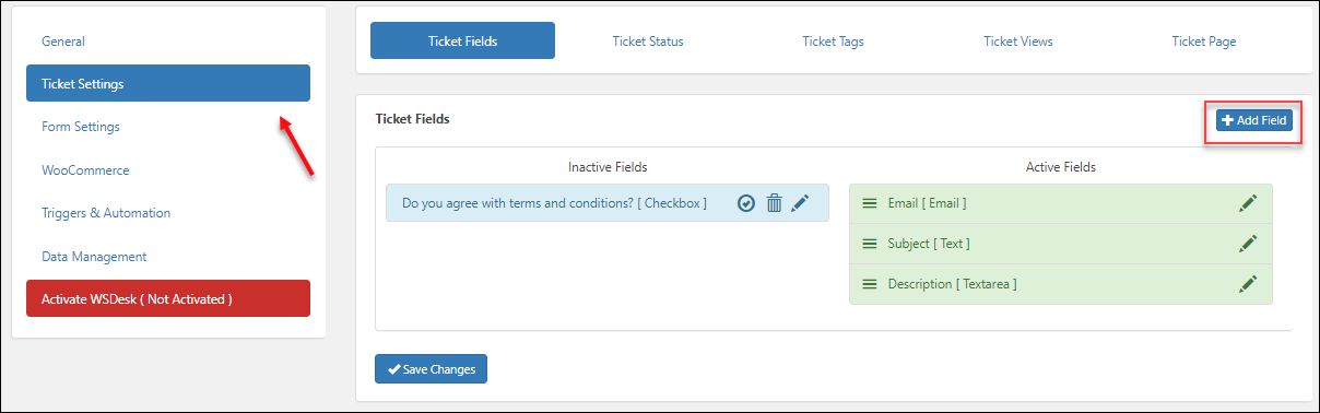 The Best WordPress HelpDesk and Support Ticketing System Plugin | Ticket Settings