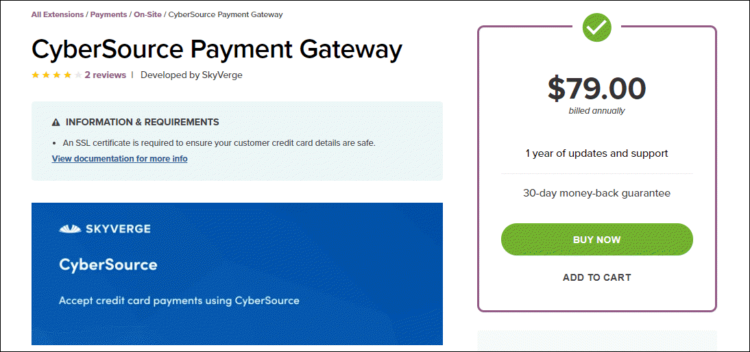 5 Best WooCommerce Apple Pay Plugins | CyberSource Paymnet Gateway