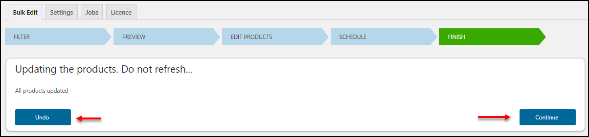 WooCommerce Bulk Edit Variable Products & Prices - A Step by Step Guide | Undo and Continue