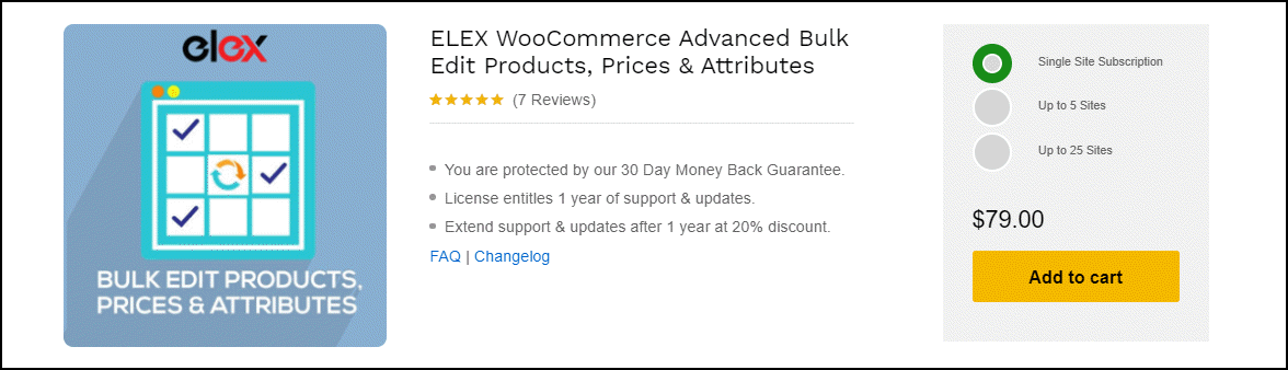 WooCommerce Bulk Edit Product Short Description - A Step by Step Guide | ELEX-WooCommerce-Advanced-Bulk-Edit-Products-Prices-Attributes