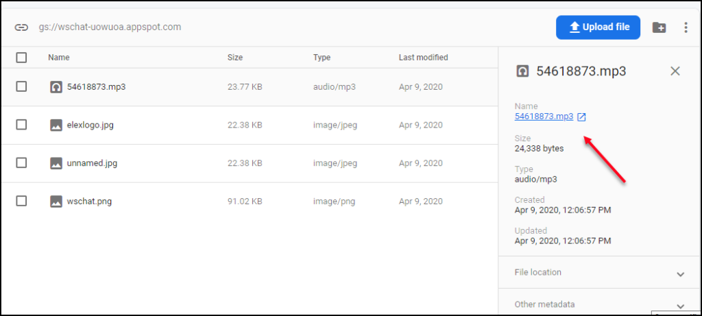 A Detailed Guide on Setting up Dialogflow | URL-from-firebase