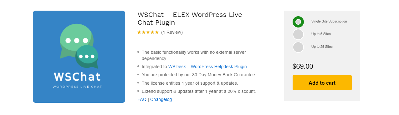 The Best WordPress Live Chat Plugin with AI Chatbot Integration | WSChat-ELEX-WordPress-Live-Chat-Plugin
