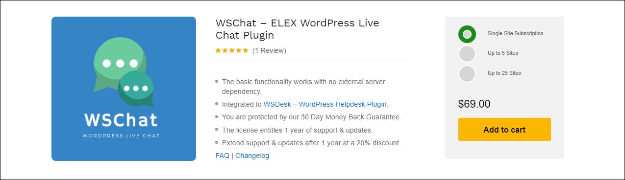 The Best Dialogflow AI Chatbot Built for WordPress   WSChat-ELEX-WordPress-Live-Chat-Plugin
