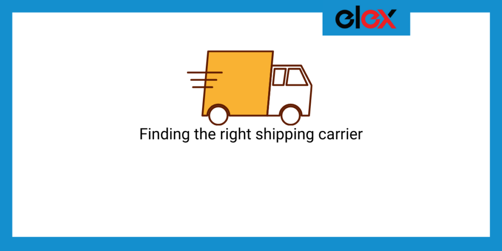 Finding your right shipping carrier || shipping problems