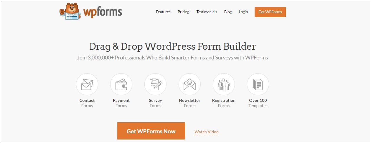 Best 7 Must-Have Plugins for WordPress | WPForms