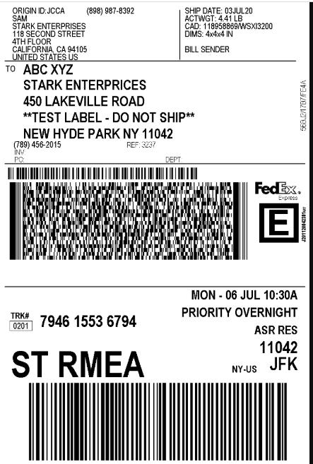 WooCommerce FedEx shipping || FedEx Shipping Label