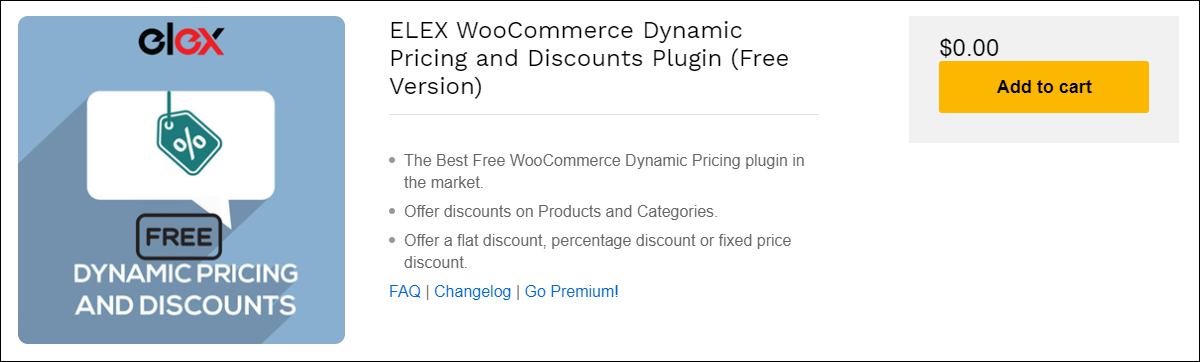 Easily Apply Cart Discount Using This Free Dynamic Pricing Plugin | ELEX-WooCommerce-Dynamic-Pricing-and-Discounts-Plugin-Free-Version
