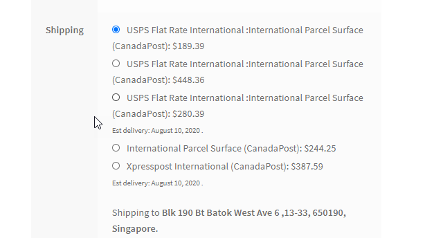 cheapest way to ship a package