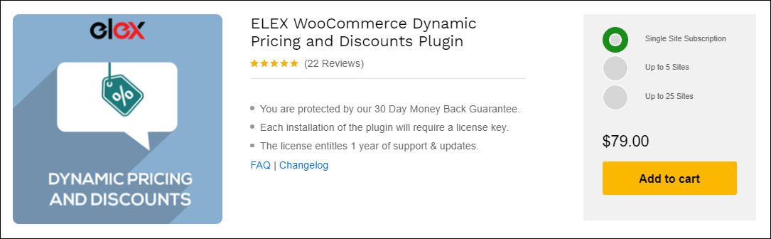 How to Create Percentage Discount for WooCommerce Products? | ELEX WooCommerce Dynamic Pricing and Discounts Plugin