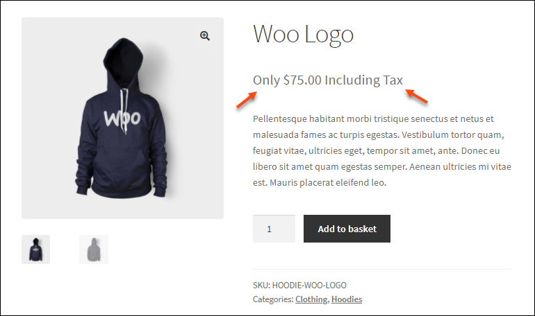 ELEX WooCommerce Product Price Custom Text & Discount Plugin | Prefix and Suffix on product page