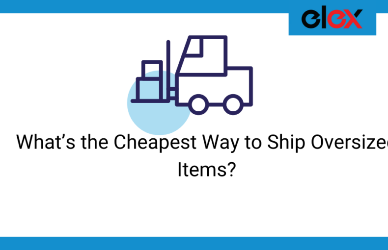 cheapest way to ship oversized items