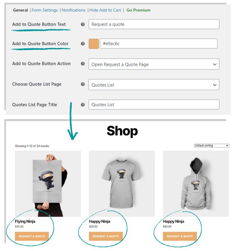 ELEX WooCommerce Request a Quote Plugin(Free) | Add 'Request a Quote' Option