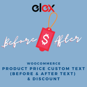 ELEX WooCommerce Product Price Custom Text (Before & After Text) and Discount Plugin | Logo