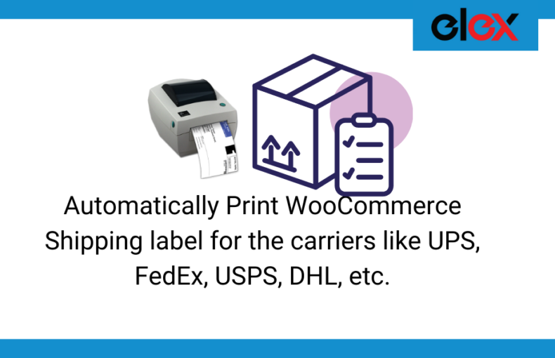 Print WooCommerce Shipping label