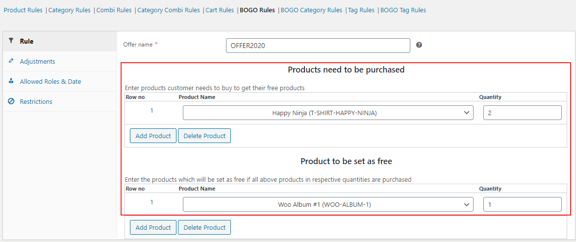 How to Add Discounts in WooCommerce? | BOGO-Rule