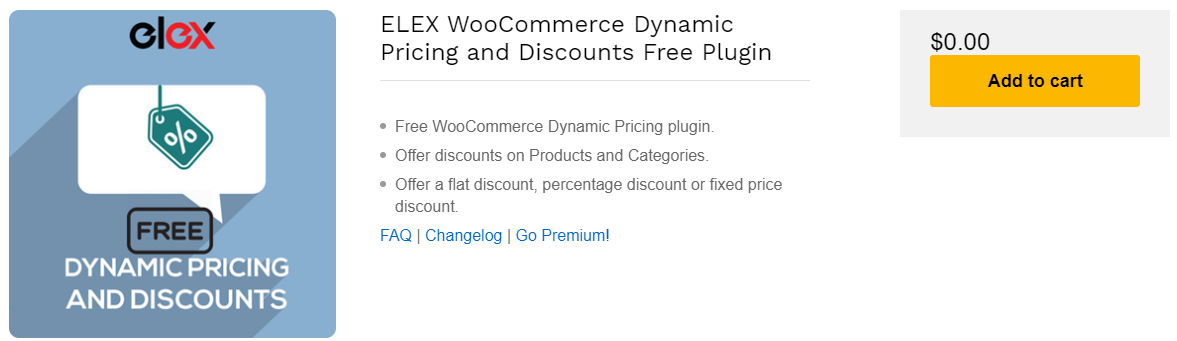 How to Add Discount Programmatically on WooCommerce? | ELEX WooCommerce Dynamic Pricing and Discounts Free Plugin