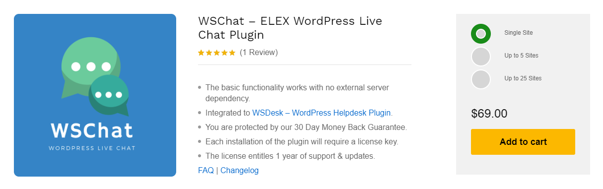 The Best WordPress Chat Plugin | WSChat – ELEX WordPress Live Chat Plugin