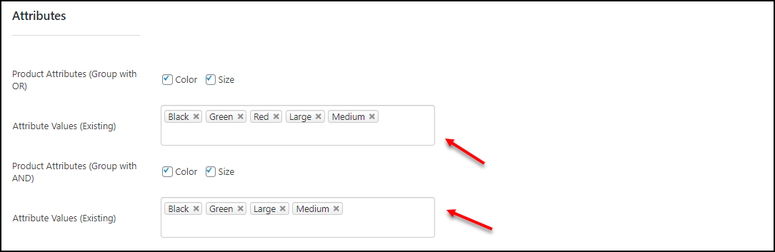 How to Set Up Multiple Prices Per Product on WooCommerce | Attributes-Filtering-on-Bulk-Edit