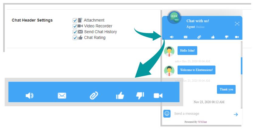 The Best WordPress User Chat Plugin | Customize-Chat-Widget-Header-Options