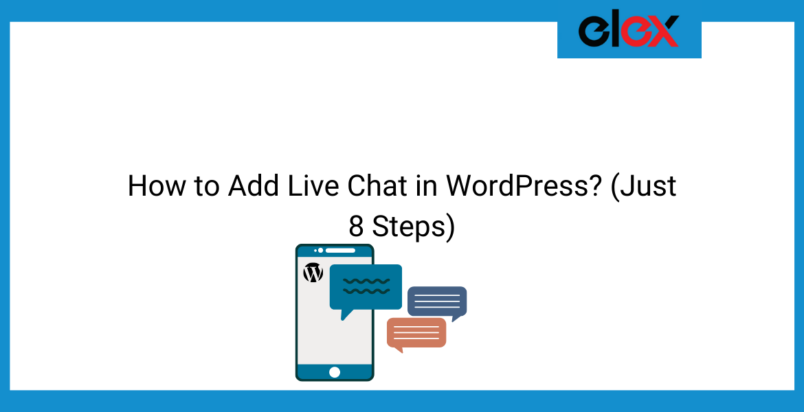 How to Add Live Chat in WordPress | Blog Banner