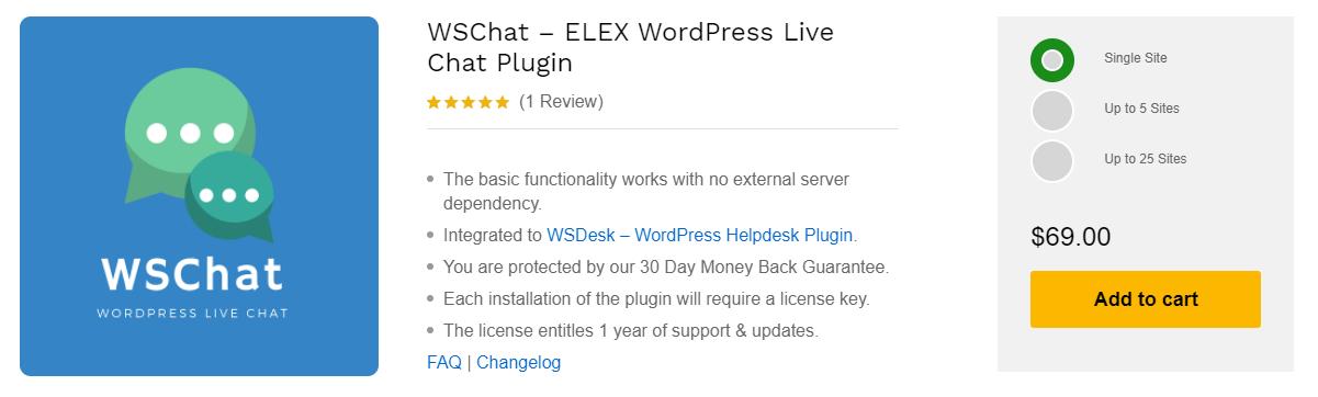 WSChat vs Tawk   WSChat – ELEX WordPress Live Chat Plugin