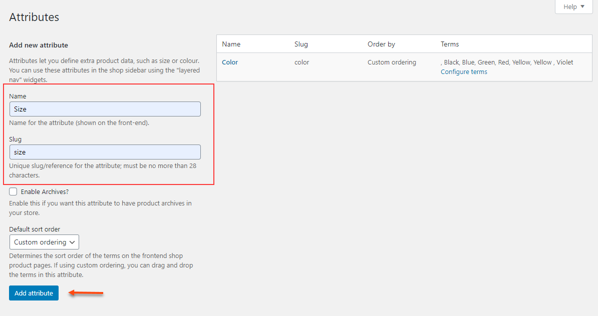 Setting Up WooCommerce Variable Pricing - For Beginners | add attributes