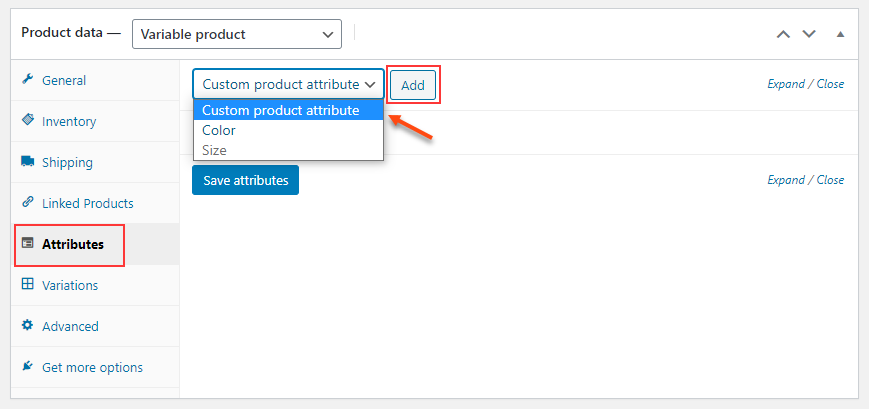 Set Up Multiple Prices Per Product on WooCommerce | creating-custom-attributes