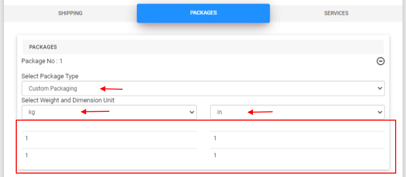 ELEX WooCommerce Shipping Calculator, Purchase Shipping Label & Tracking for Customers | custom packaging option