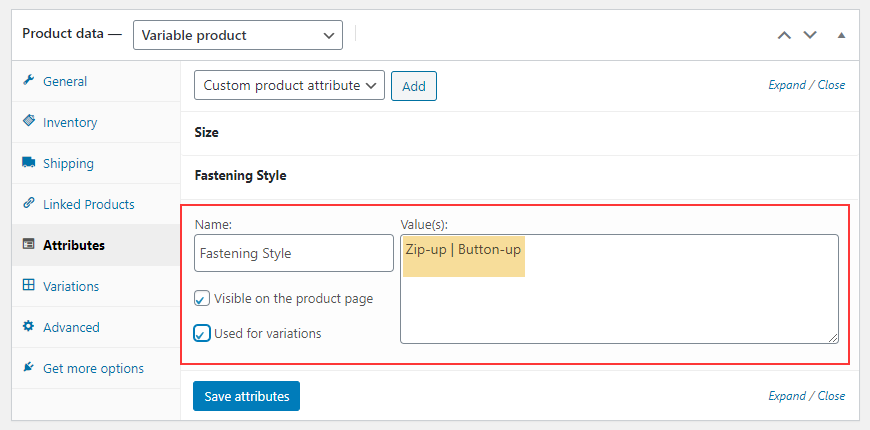 Set Up Multiple Prices Per Product on WooCommerce | custom-variations