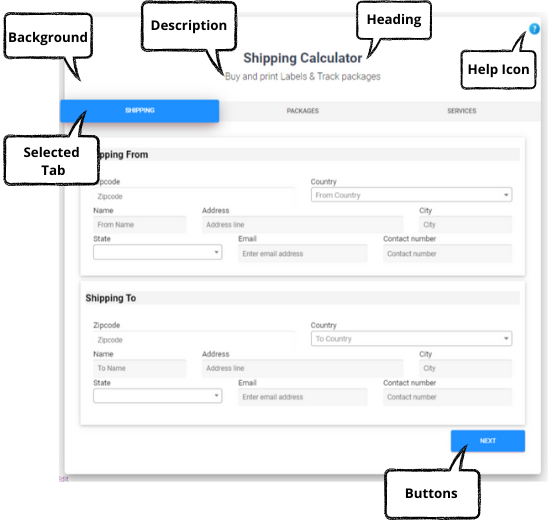 ELEX WooCommerce Shipping Calculator, Purchase Shipping Label & Tracking for Customers | shipping calculator template on front end