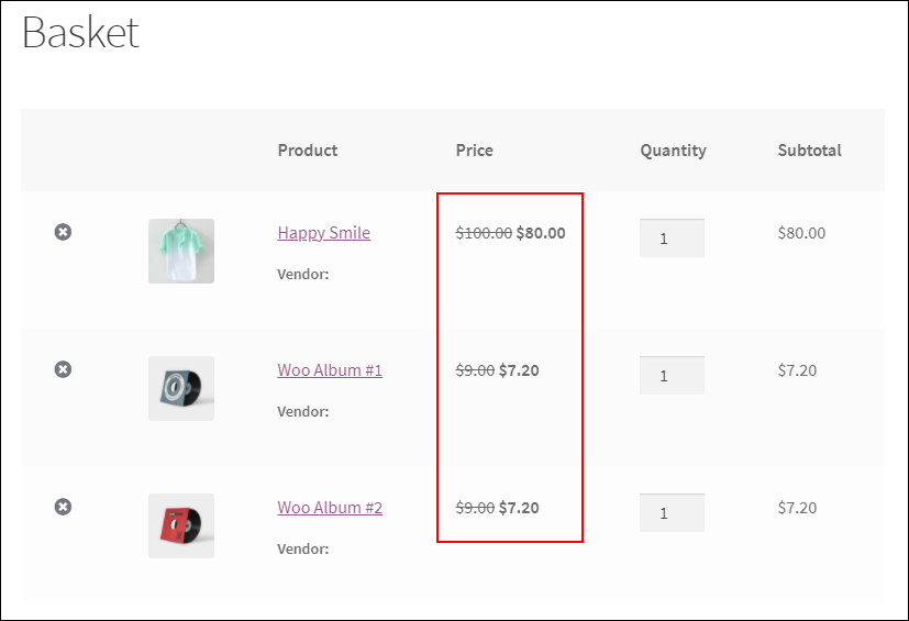 Set Up WooCommerce Sitewide Discount | sitewide cart rules in basket